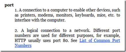 http://www.walthowe.com/glossary/p.html#port