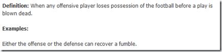 fumble (sports)