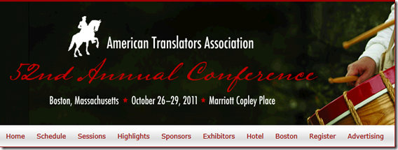 American Translators Associatin (http://www.atanet.org/)