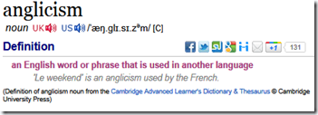 Source: Cambridge Dictionaries Online